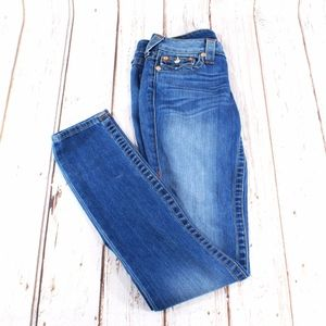 True Religion Flap Back Pockets Denim Jeans